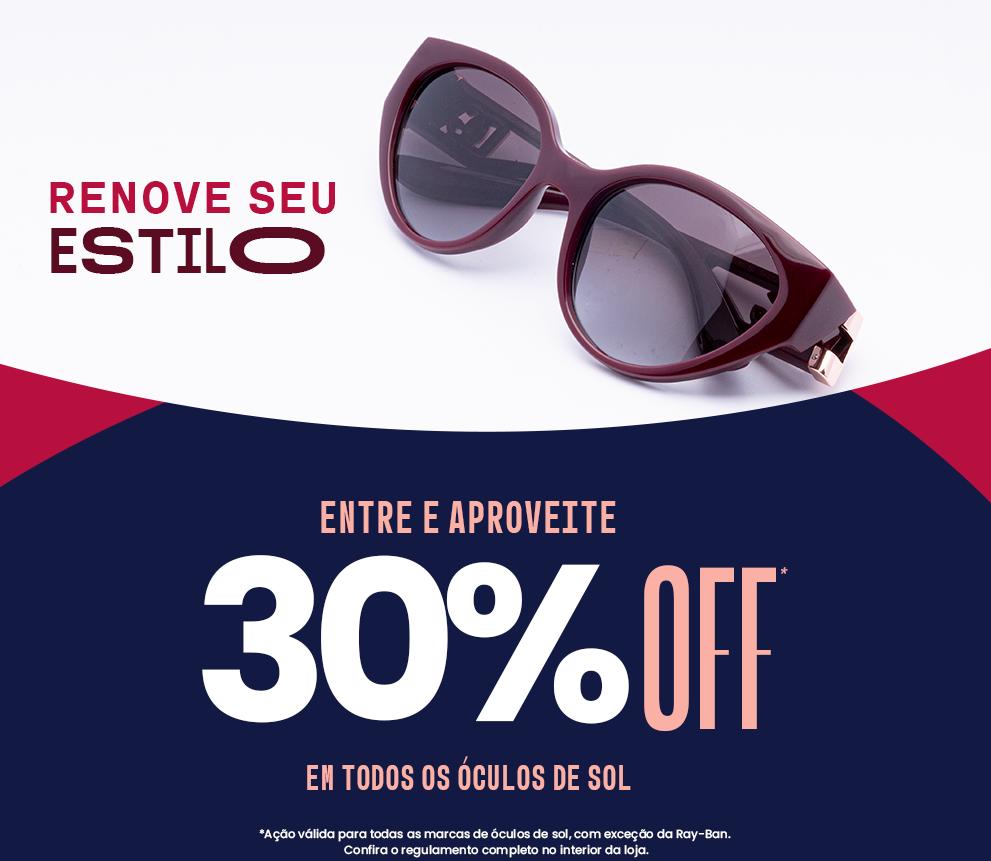 Banner Oculos de Sol Mobile